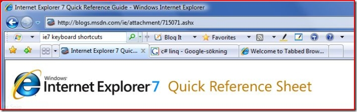 IE7 screenshot